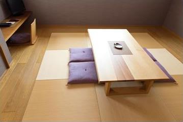 フローリングの家によりマッチする畳空間